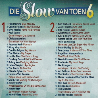 Various Artists - Die Slow Van Toen vol 6 B