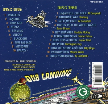 Various Artists - Linval Presents Dub Landing Vol 1 B